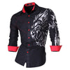 High Fashion Men's Casual Shirt  Slim Fit - Trend-gem