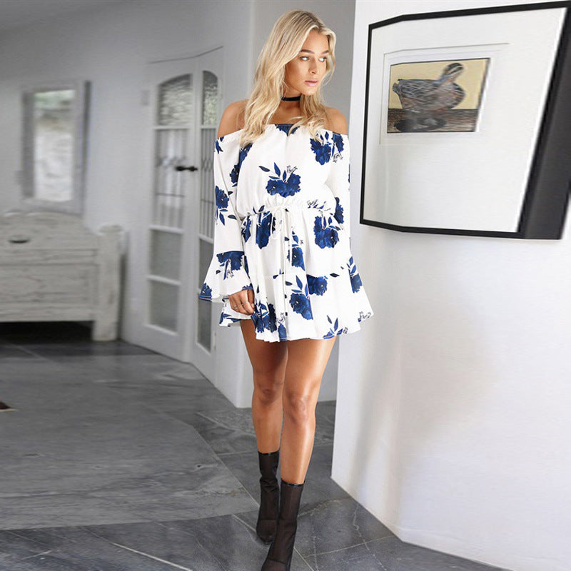 Beach Floral Boho Dress - Trend-gem