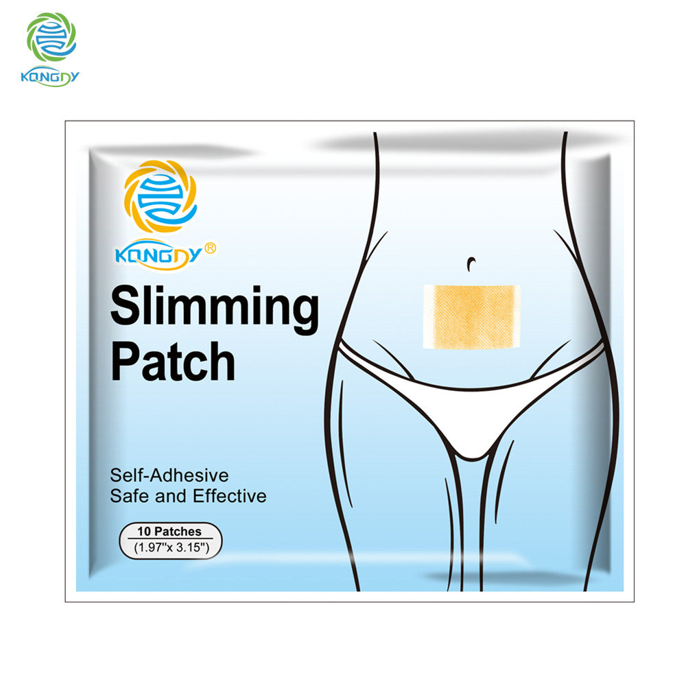 10 pieces/Bag Hot Sale Weight Lose Paste Navel Slim Patch Health Slimming Patch Slimming Diet Products Detox Adhesive - Trend-gem