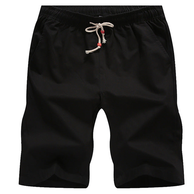 Cotton Shorts Men Boardshorts Breathable Male Casual Shorts Comfortable Plus Size Cool Short - Trend-gem