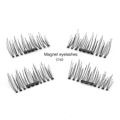 3D 0.2mm Magnetic Eyelashes Extension Eye Beauty Makeup Accessories Soft Hair Fake Eyelashes False lashes-CT - Trend-gem