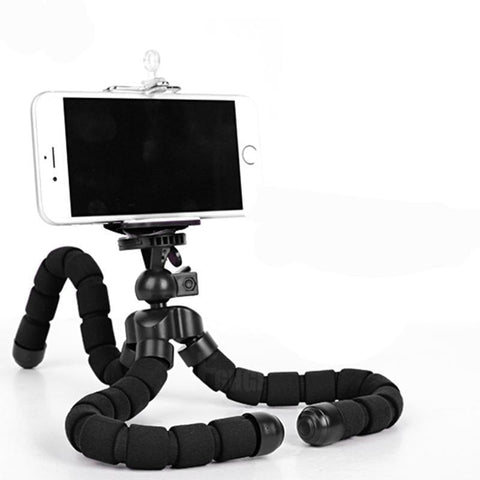 Mobile Phone Stand Car Phone Holder Flexible Octopus Tripod Bracket Digital Camera Mini Portable Flexible Desktop Stent - Trend-gem
