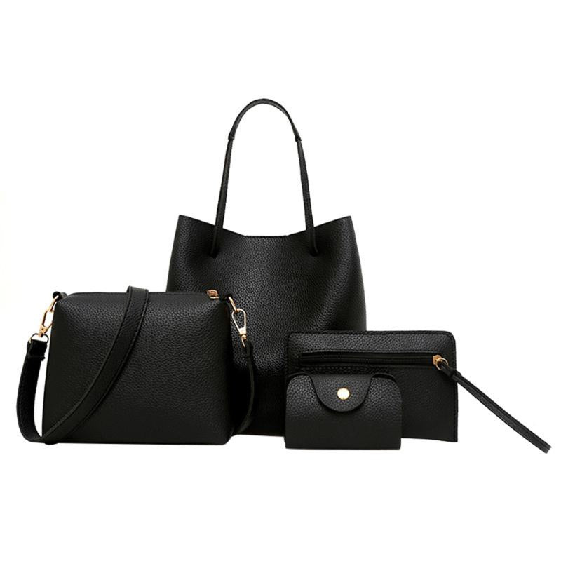 4 Piece Handbag Set - Trend-gem