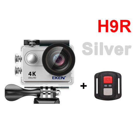 "Action camera H9R Ultra HD 4K / 25fps WiFi 2.0"" 170D underwater waterproof Helmet Cam Sport cam - Trend-gem"