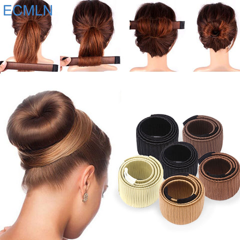 Hair Accessories Synthetic Wig Donuts Bud Head Band Ball French Twist - Trend-gem