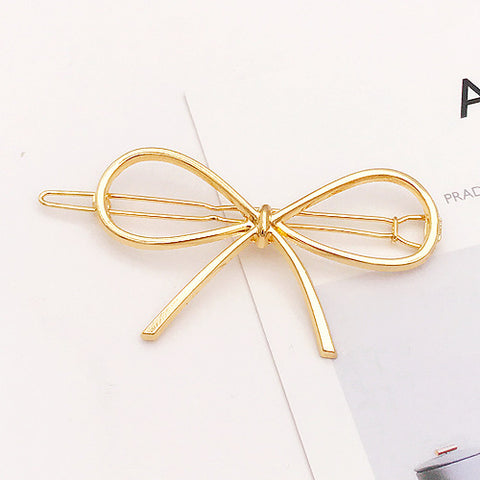 Gold/Silver Plated Metal  Hair Clips - Trend-gem