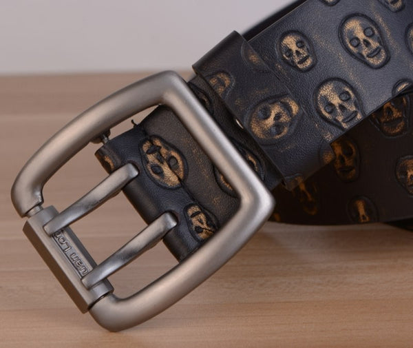 Floating Skulls Belt