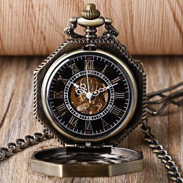 Octagon Star Pocket Watch