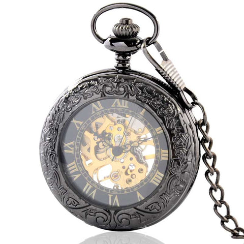 Wide Eye Pocket Watch