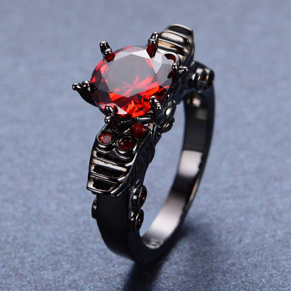 dot top ruby hikaru ring products jewellery furuhashi