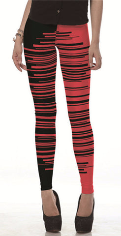 Black Lines Leggings