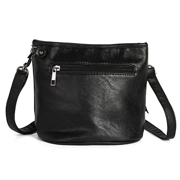 Skull Face Shoulder Bag