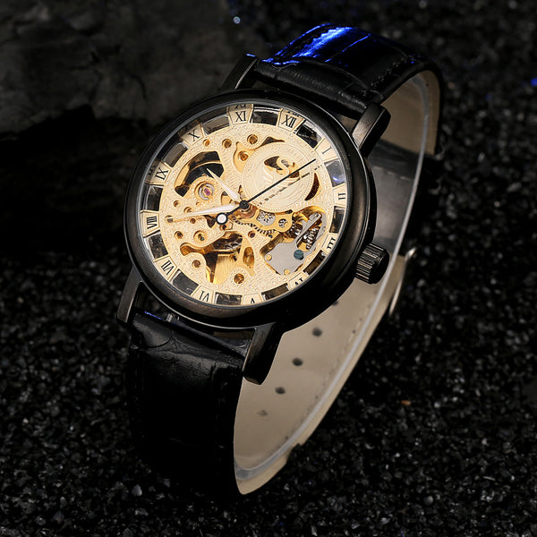 Skeleton Swirl Luxury Watch