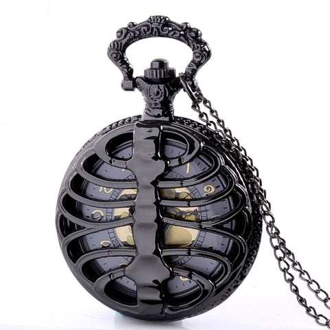 Hollow Rib Pocket Watch