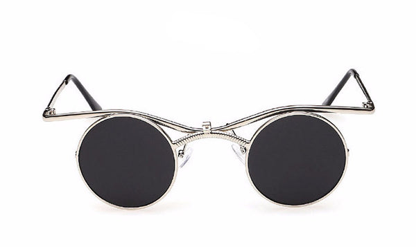 Double Moon Designer Sunglasses - Rebel Goth Fashion, Jewelry, Accessories