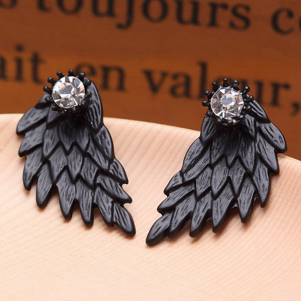 Vintage Angel Wing Earrings