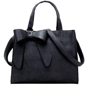Big Bow Designed Handbag