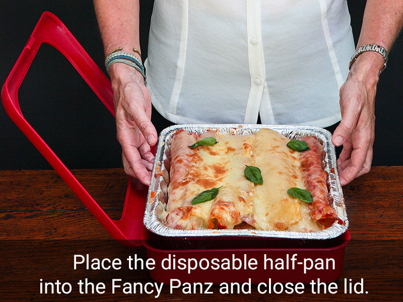 Fancy Panz for disposable chafing pans and dishes