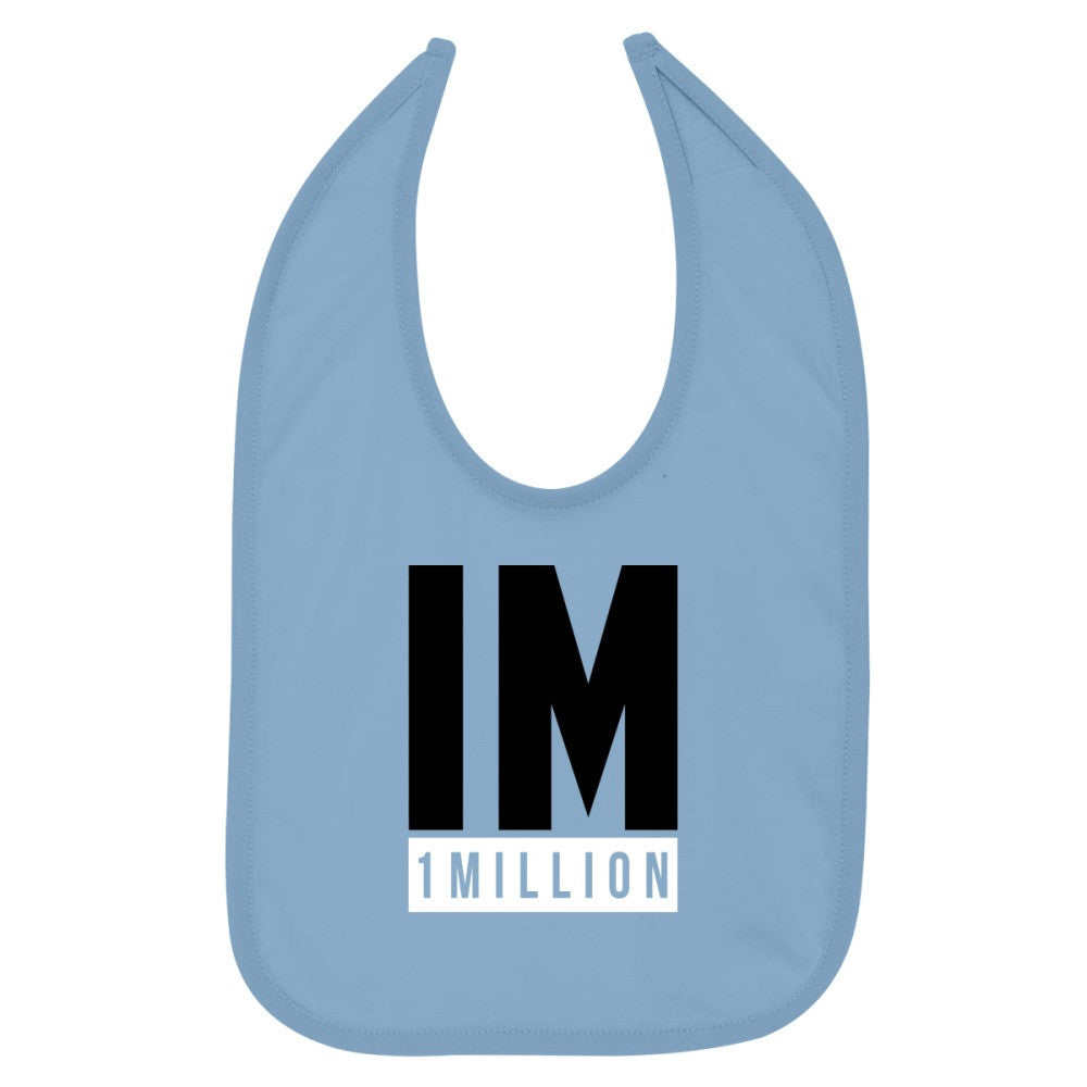1 MILLION Dance Studio Logo  Baby Bib