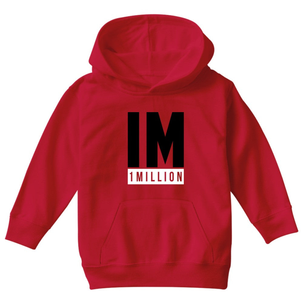 1 MILLION Dance Studio Logo  Kids Hoodie