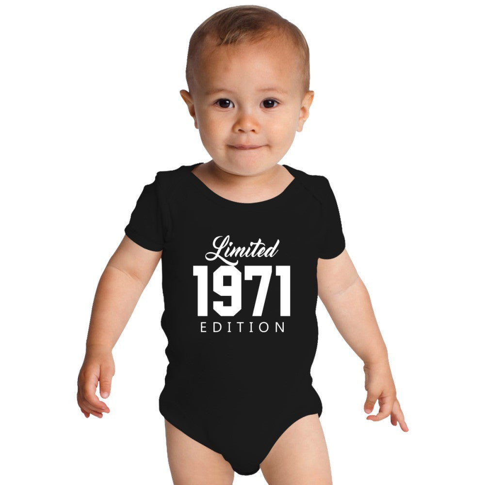 1971 Limited Edition Birthday Baby Onesies