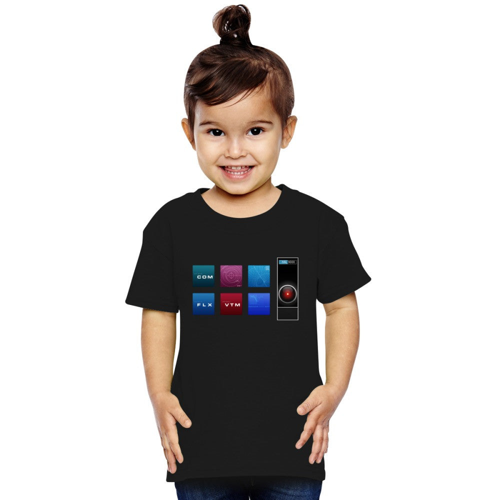 2001 A Space Odyssey Hal 9000 Toddler T-shirt