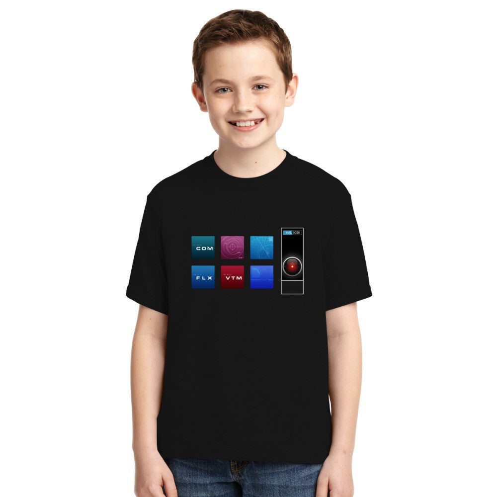 2001 A Space Odyssey Hal 9000 Youth T-shirt