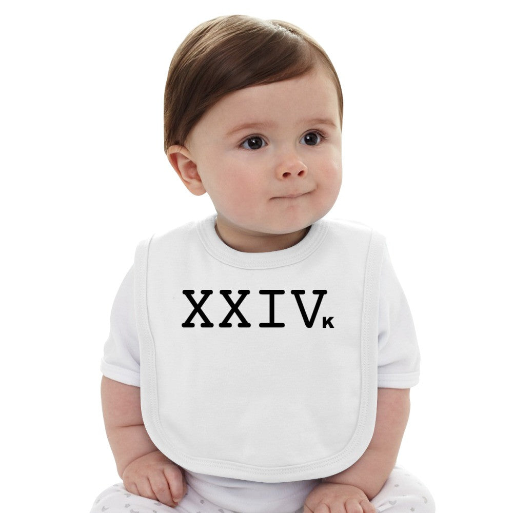 24K Magic Logo Baby Bib
