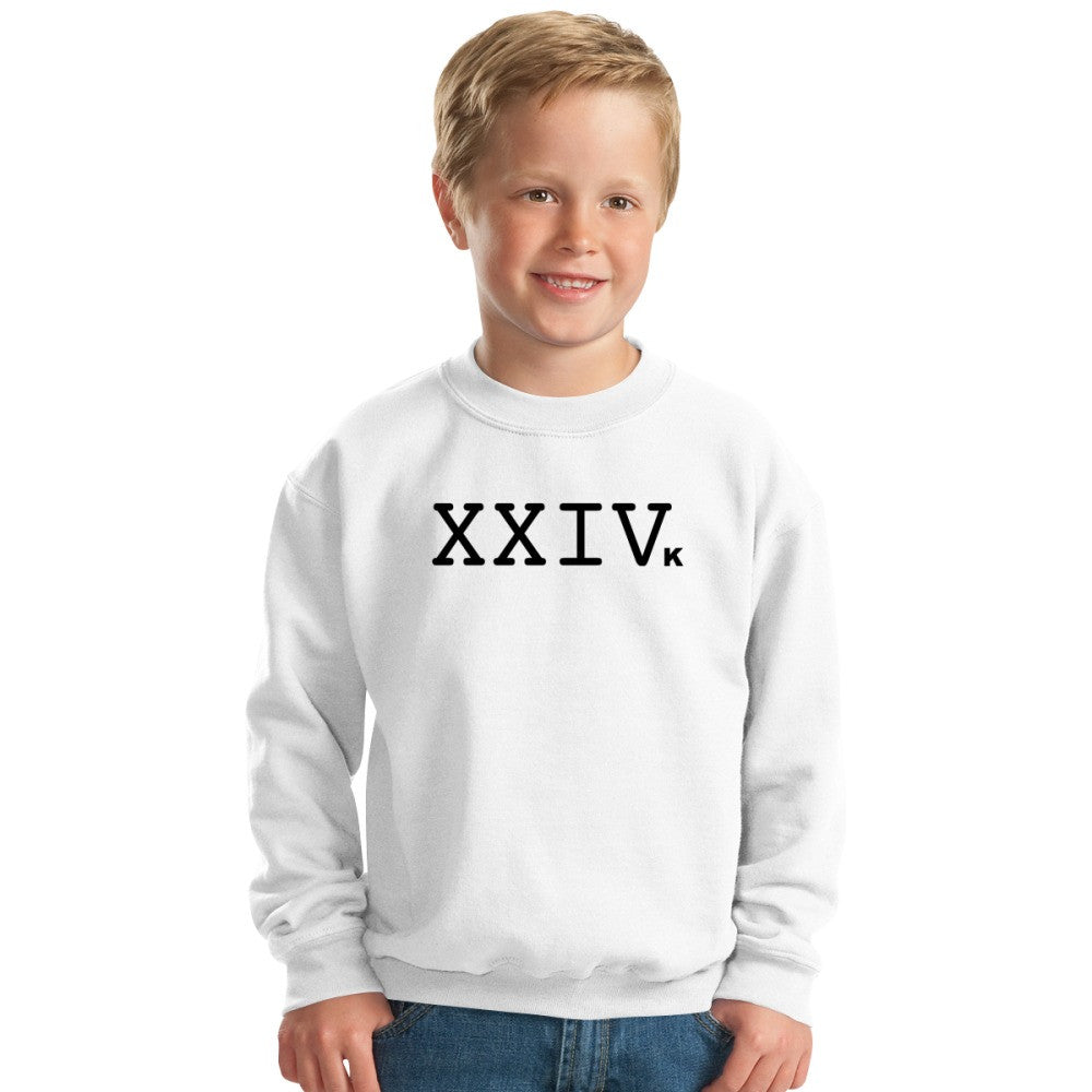 24K Magic Logo Kids Sweatshirt