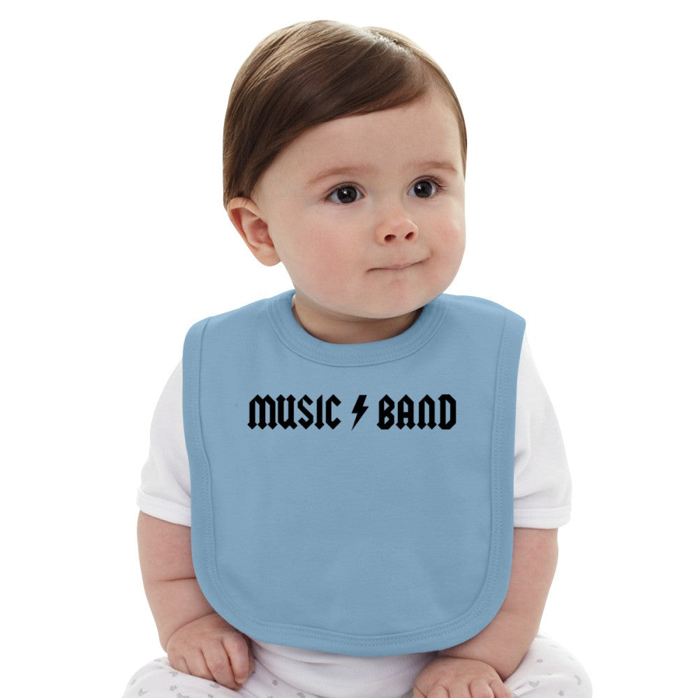 30 Rock - Music Band  Baby Bib