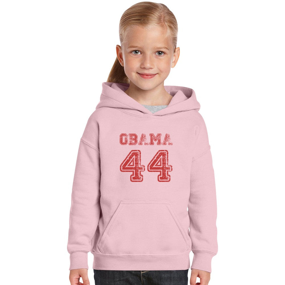 44th President Barack Obama  Kids Hoodie