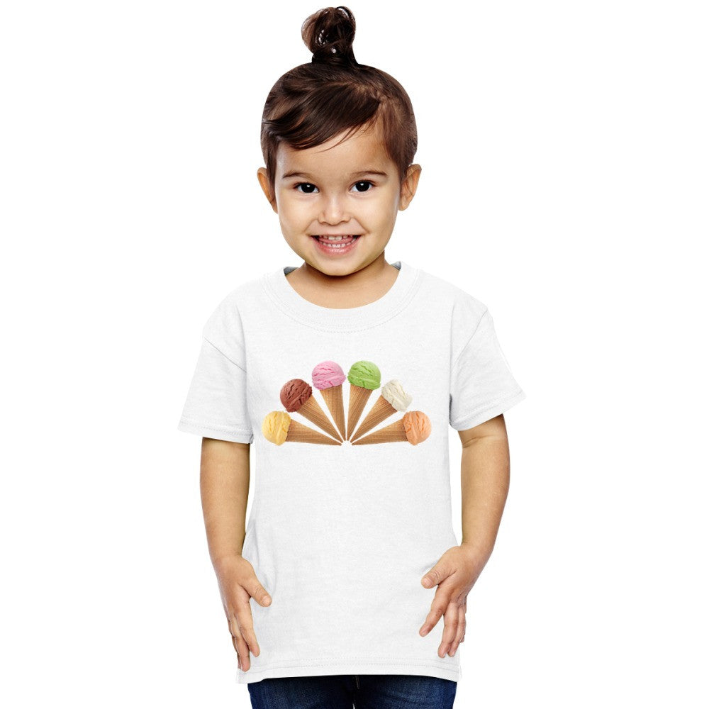 6 Ice Cream  Toddler T-shirt