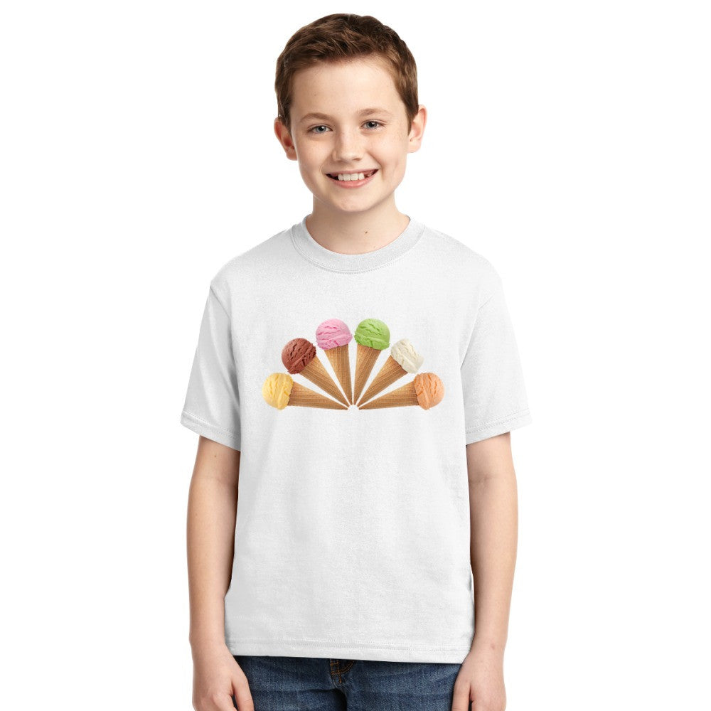 6 Ice Cream  Youth T-shirt