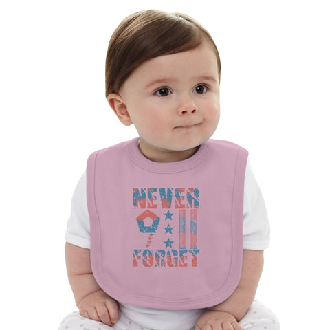 9-11-In-Remembrance Baby Bib