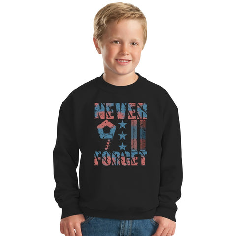 9-11-In-Remembrance Kids Sweatshirt