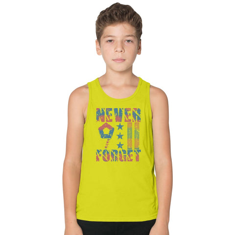 9-11-In-Remembrance Kids Tank Top