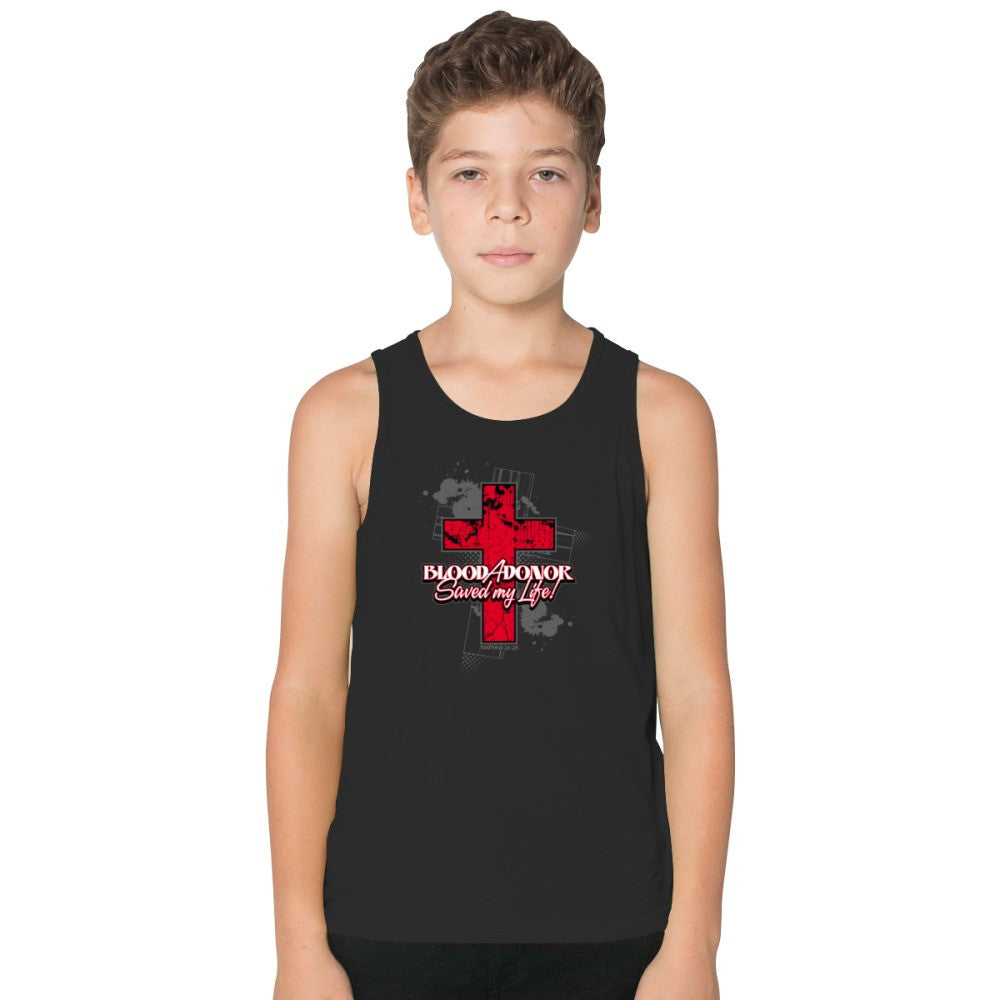 A Blood Donor Saved My Life! Kids Tank Top