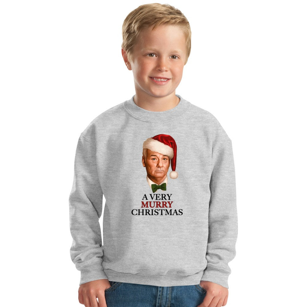A Very Murry Christmas Kids Sweatshirt