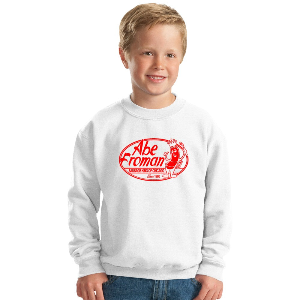 Abe Froman Red Sausage King Kids Sweatshirt