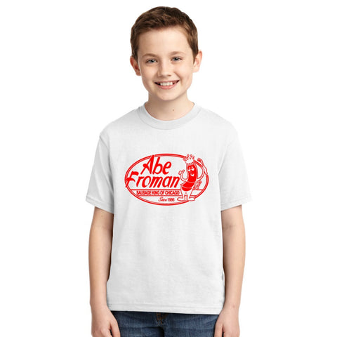 Abe Froman Red Sausage King Youth T-shirt
