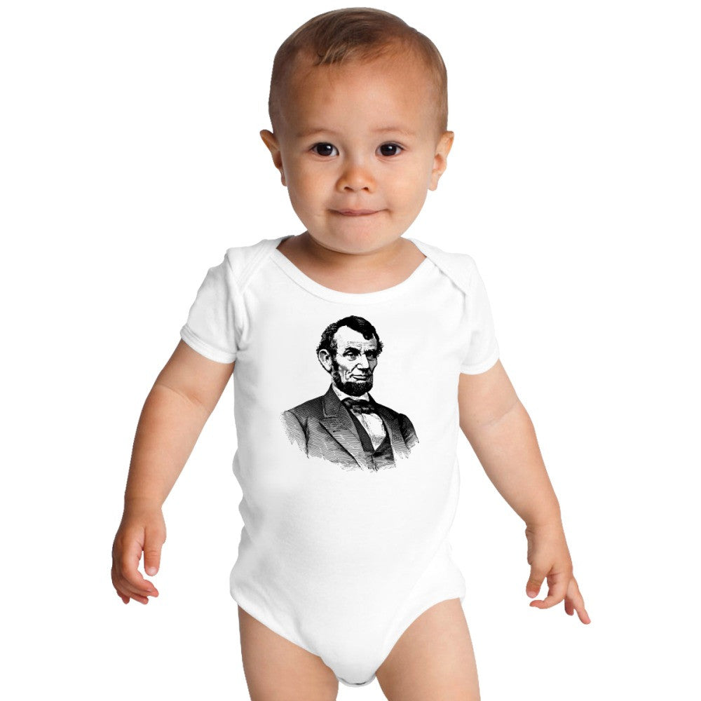 Abraham Lincoln Baby Onesies