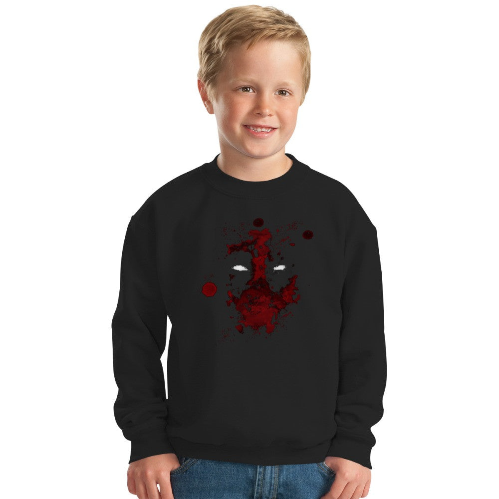 Abstract Mercenary   Kids Sweatshirt