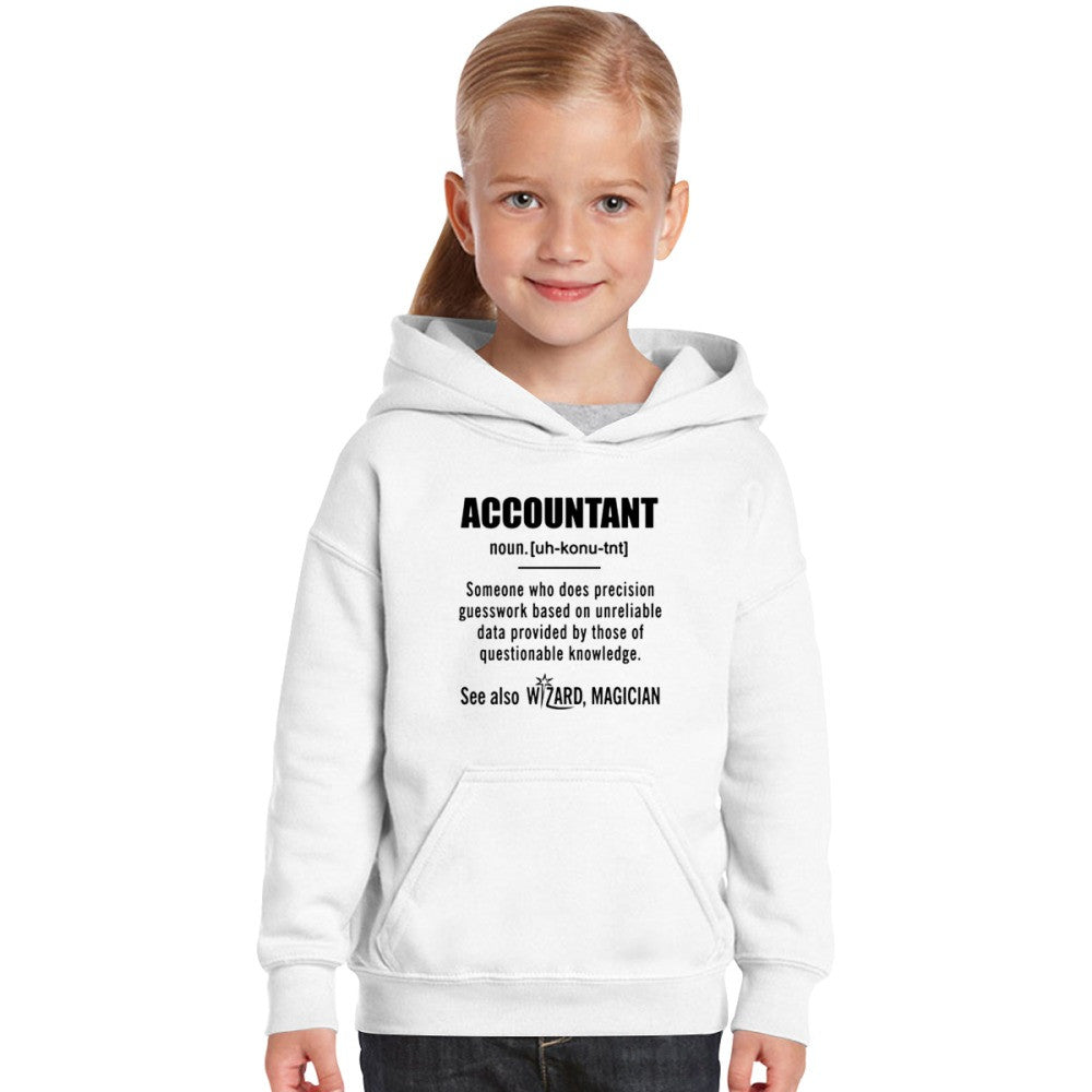 Accountant Gifts - Accountant Definition Shirt Kids Hoodie