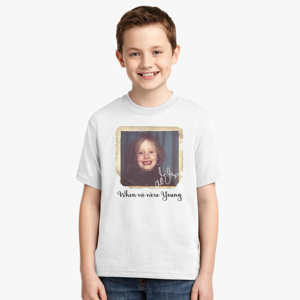 Adele - When We Were Young  Youth T-shirt