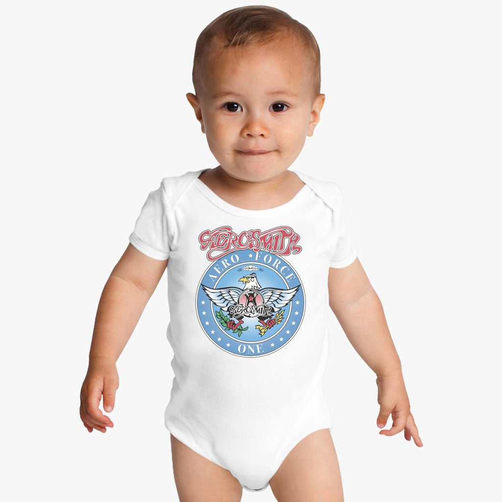 Aerosmith - Aero Force Baby Onesies