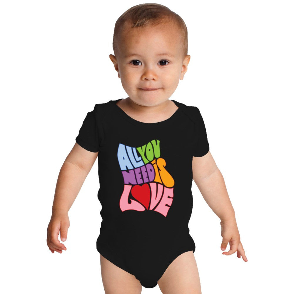 All You Need Is Love Baby Onesies