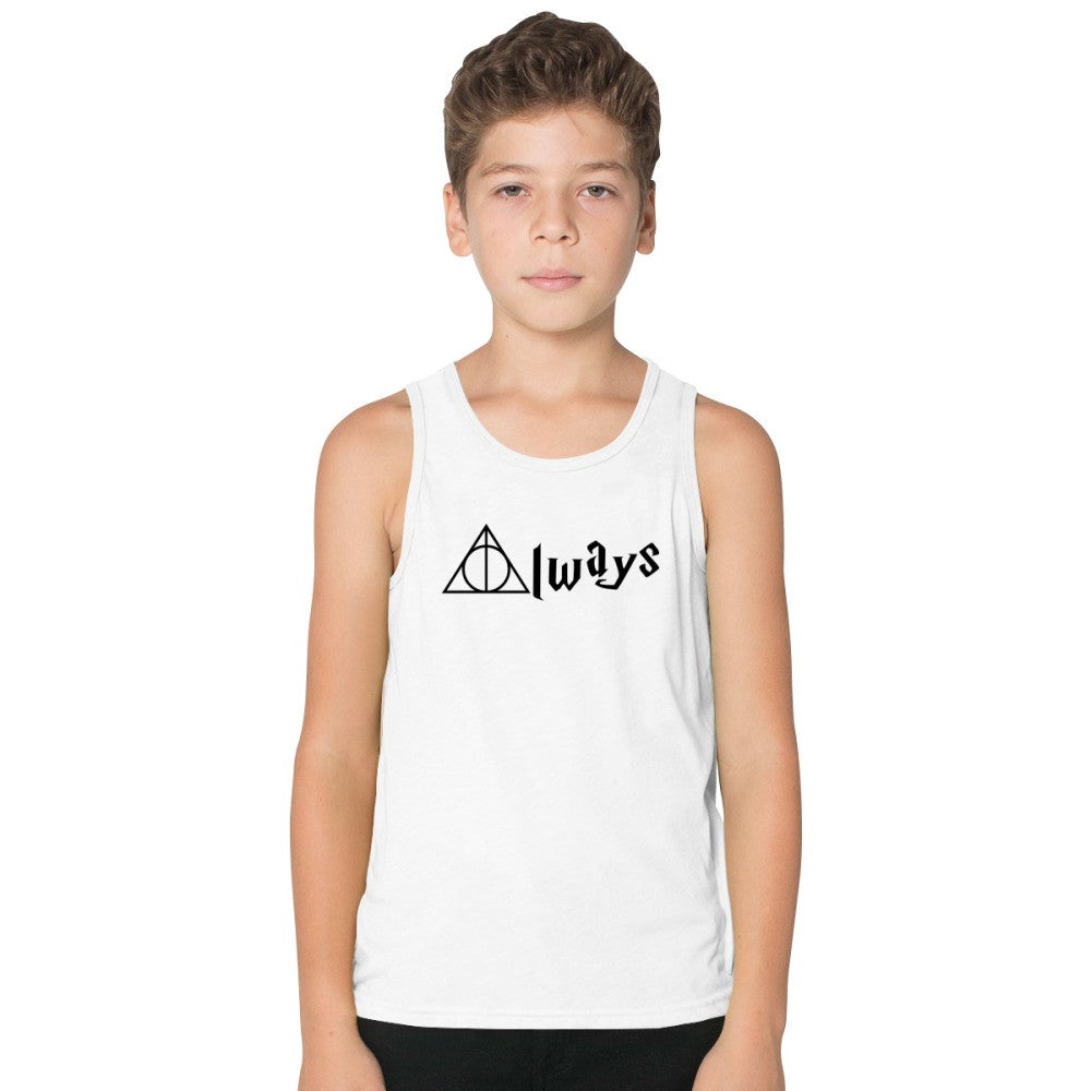 Always Deathly Hallows Kids Tank Top