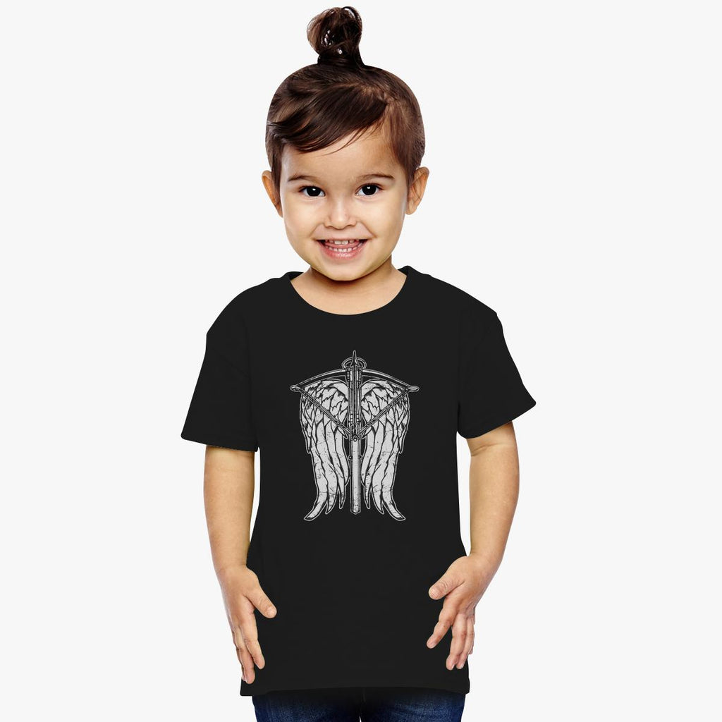 Angel Wings And Crossbow Toddler T-shirt