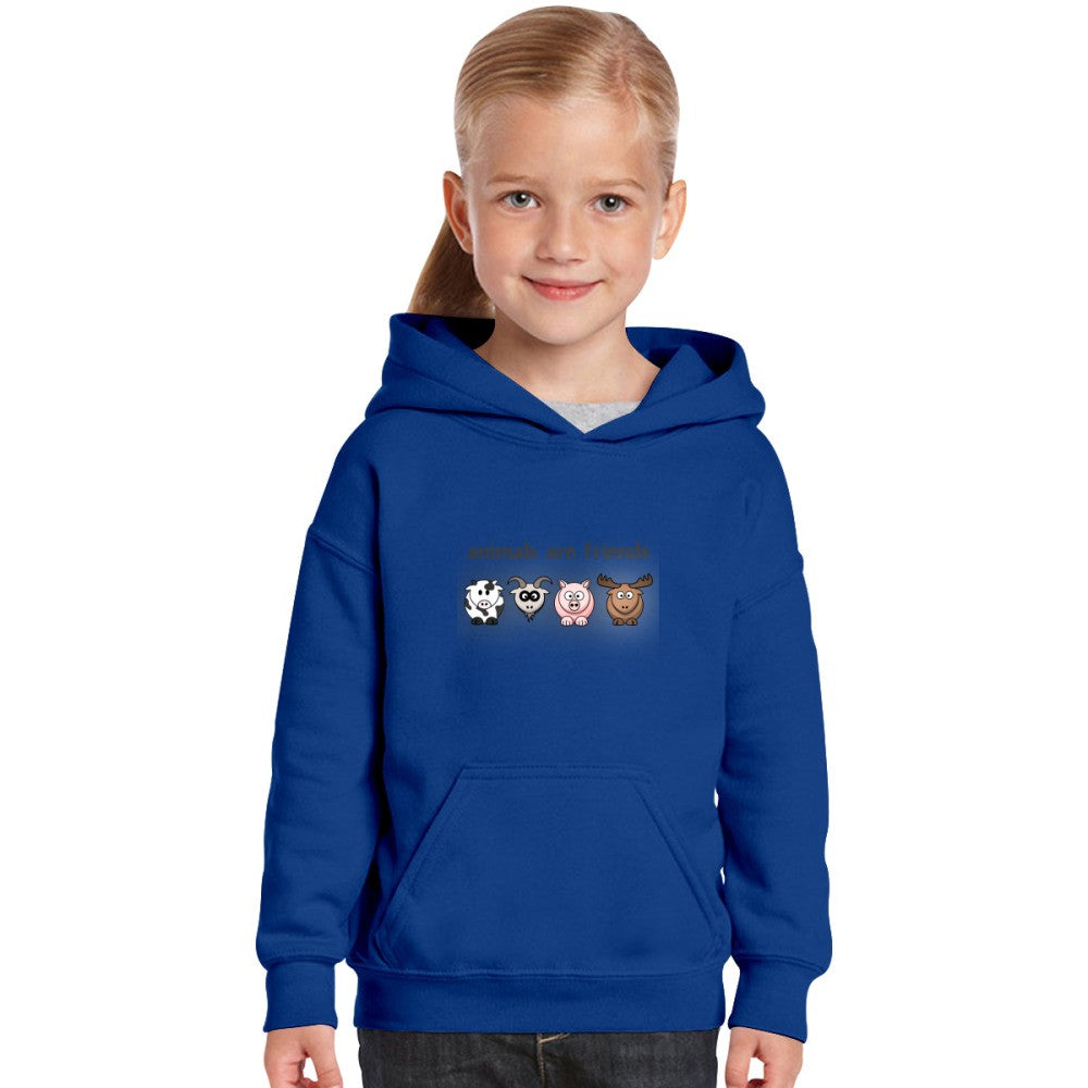 Animal Are Friends Kids Hoodie