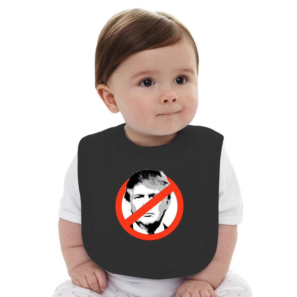 Anti Trump Baby Bib